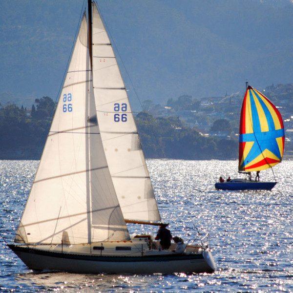 Hobart's senior sailor's hat-trick on the Derwent