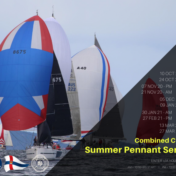 2020-21 Combined Clubs Summer Pennant Race 9 – RYCT